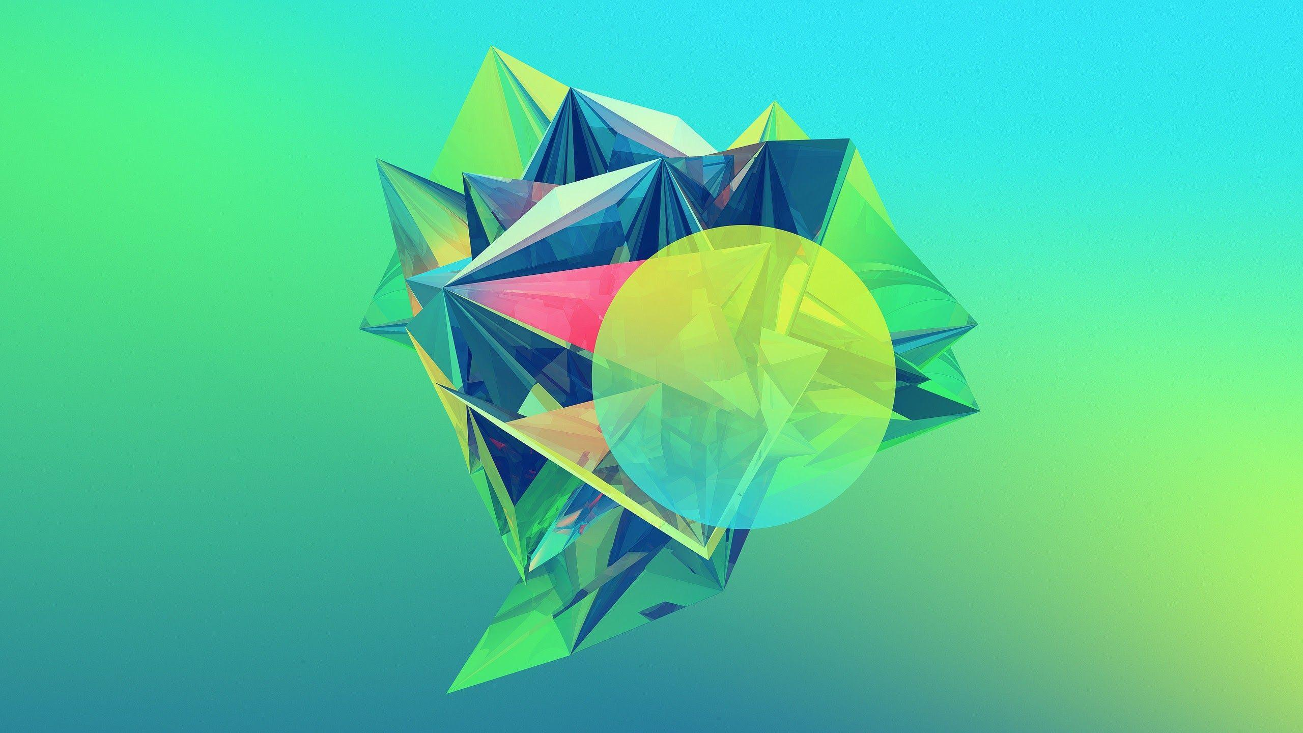 50 rich and colorful geometric wallpapers for your mobile devices ...