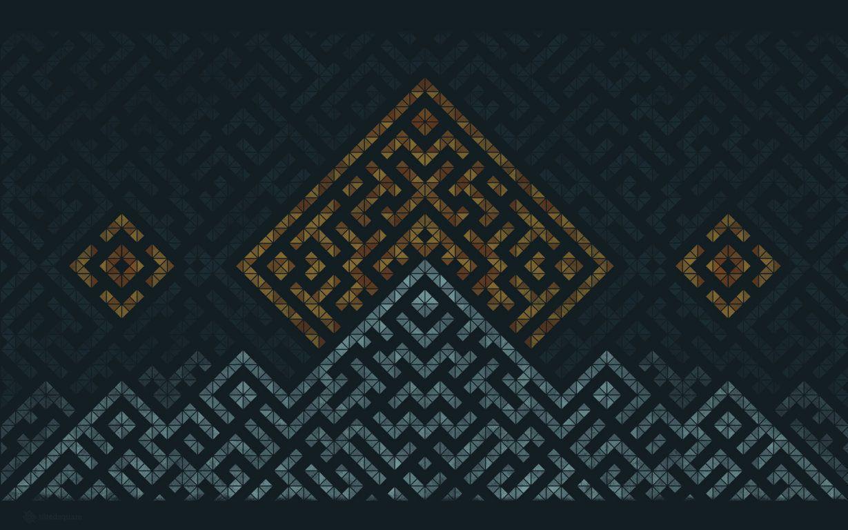 Geometric Wallpaper Wga21 | WallisMe
