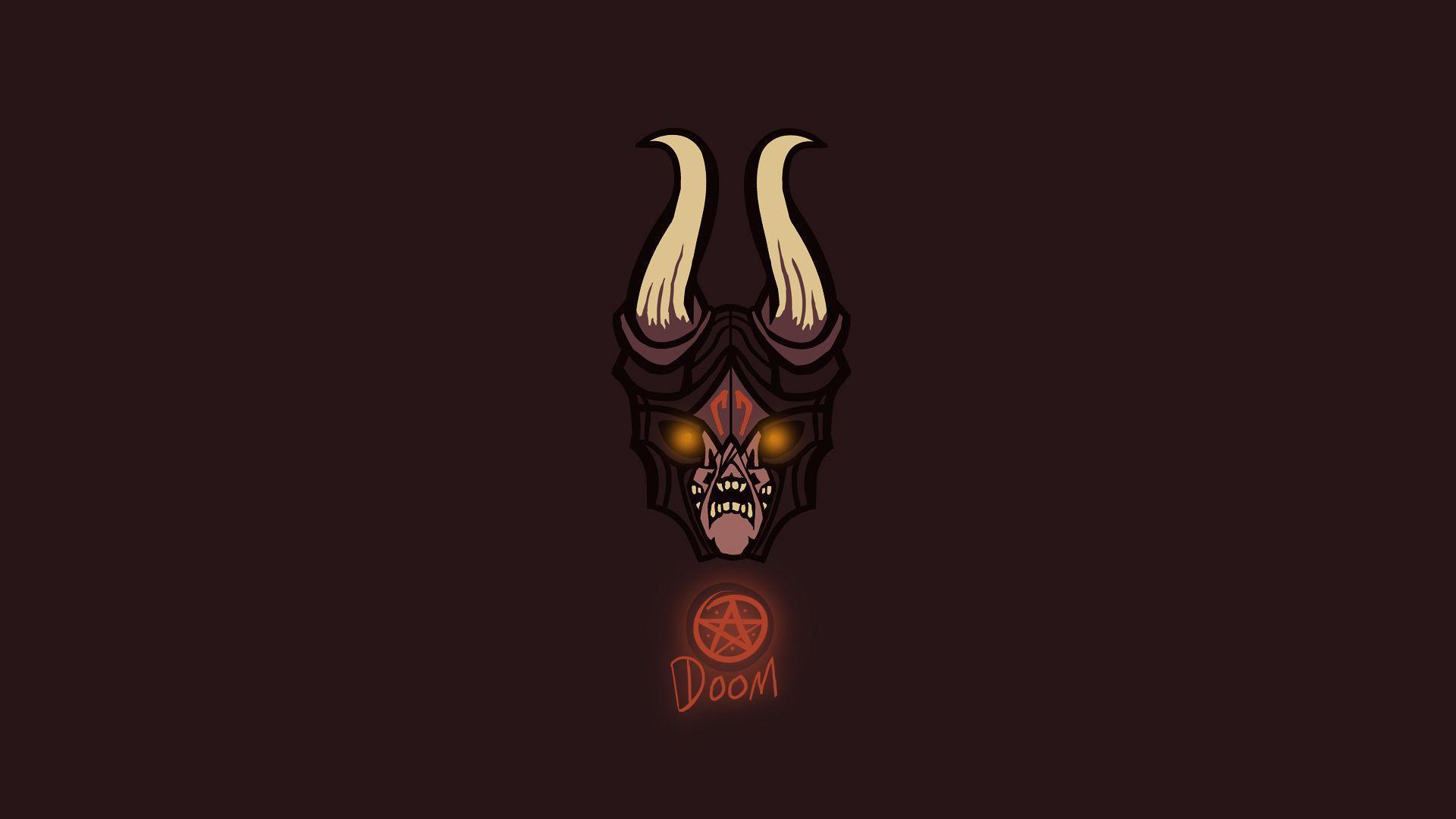 Doom: The Lucifer Wallpaper | Dota 2 HD Wallpapers