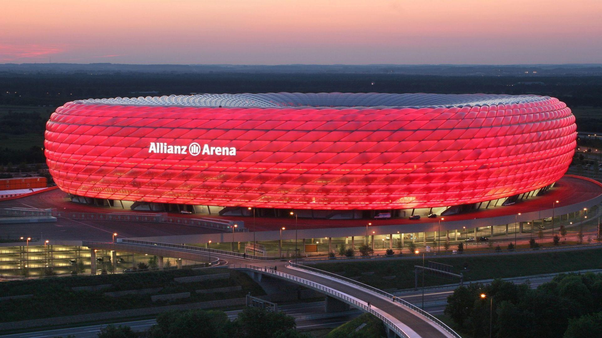 High Resolution FC Bayern Munich Stadium Wallpaper 1080p ...
