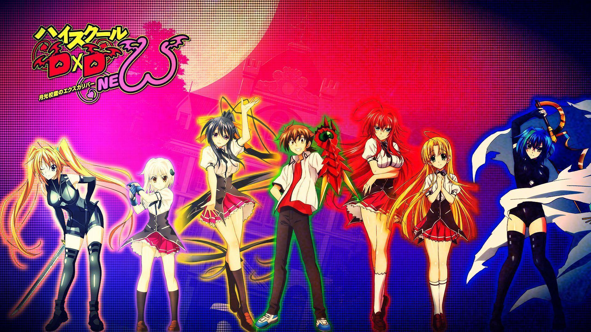 85 High School DxD HD Wallpapers
