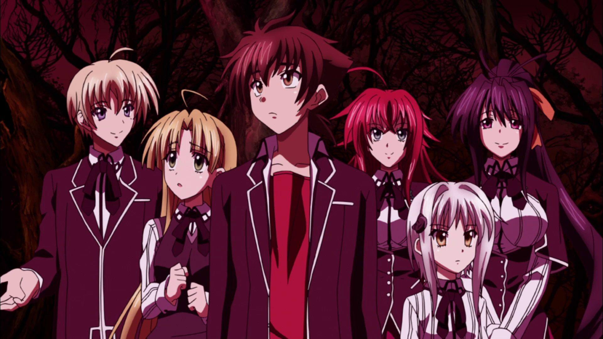 High School DXD – All About Anime