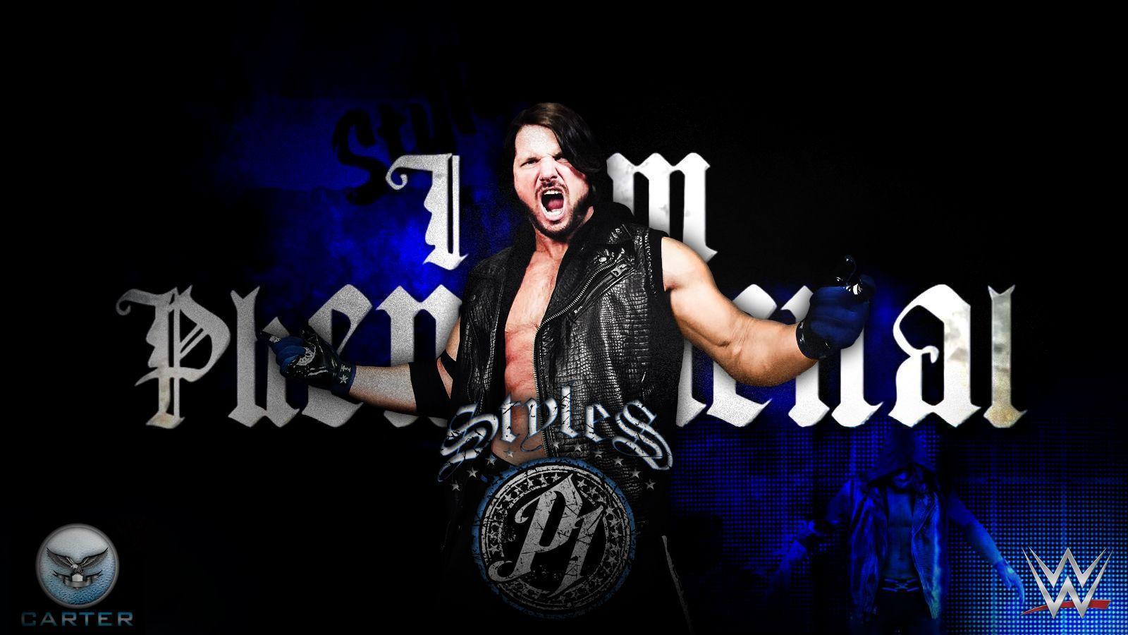 WWE Wrestler AJ Styles Wallpapers HD Pictures | One HD Wallpaper ...