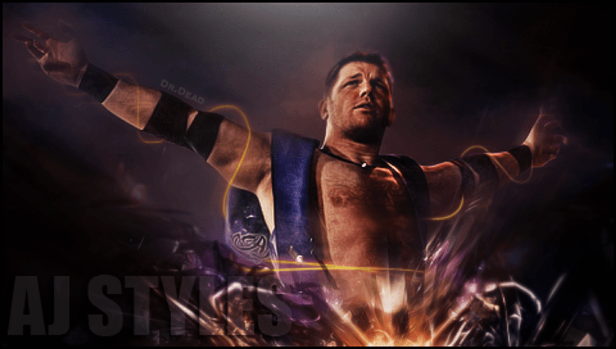 AJ Styles Hd Free Wallpapers | WWE HD WALLPAPER FREE DOWNLOAD