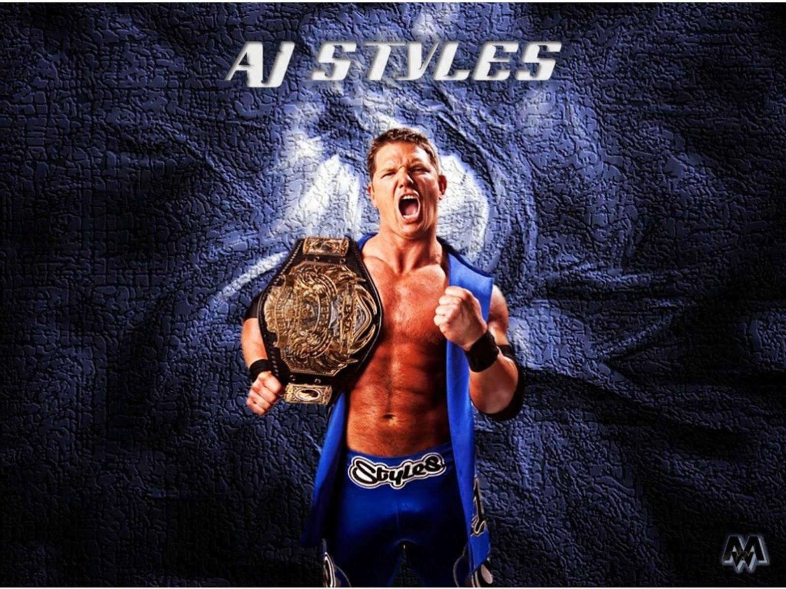 AJ Styles Hd Free Wallpapers | WWE HD WALLPAPER FREE DOWNLOAD