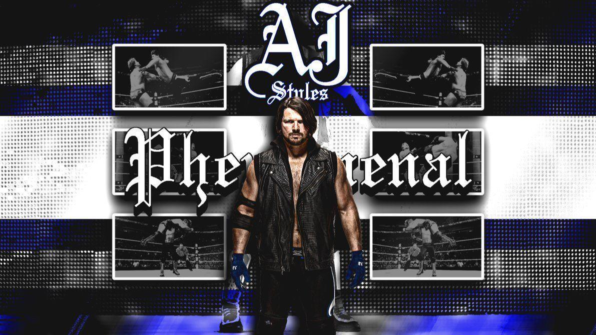 AJ Styles Wallpaper (1080p) by DarkVoidPictures on DeviantArt