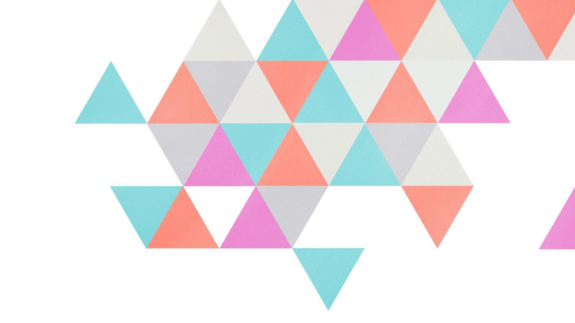 White Geometric Wallpaper 182 1920x1080 - uMad.com