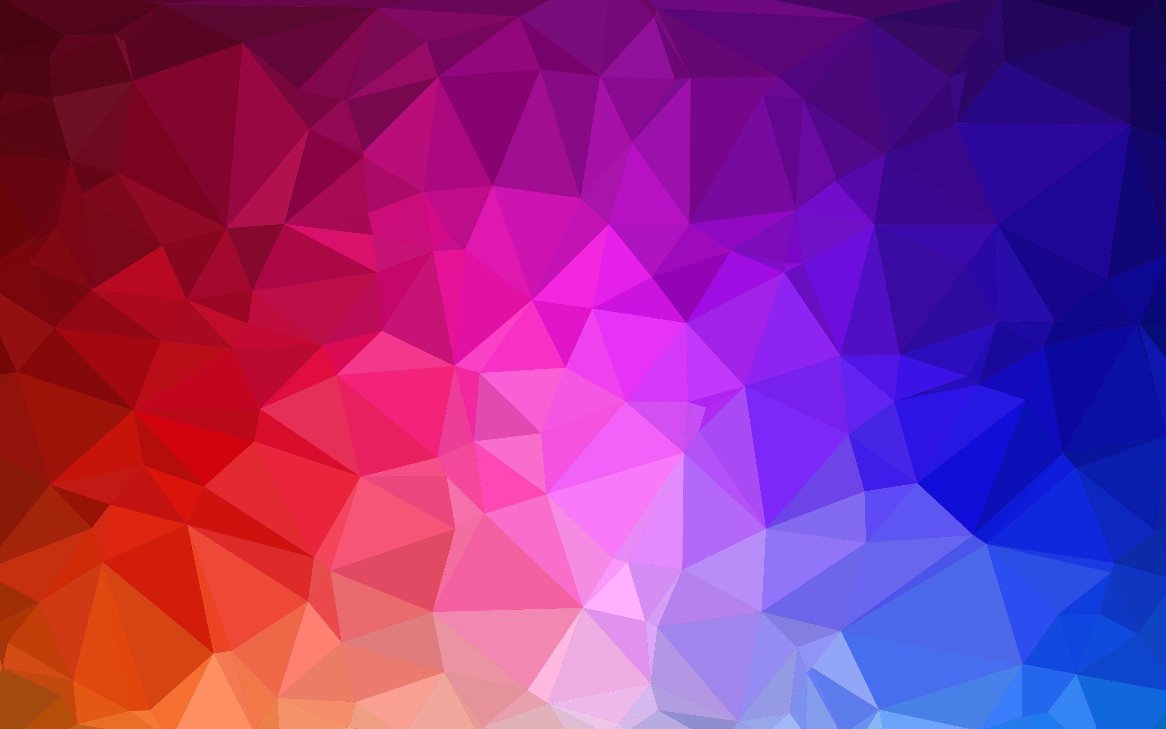 Colorful Geometric Wallpaper Wga02 | WallisMe