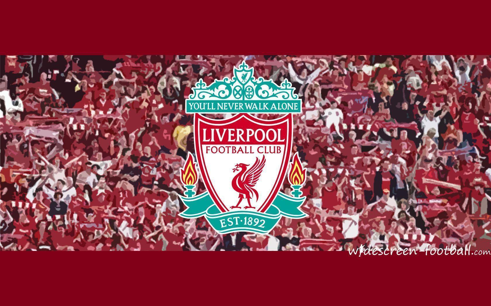 Liverpool Football Logo Club Windows 8 Theme