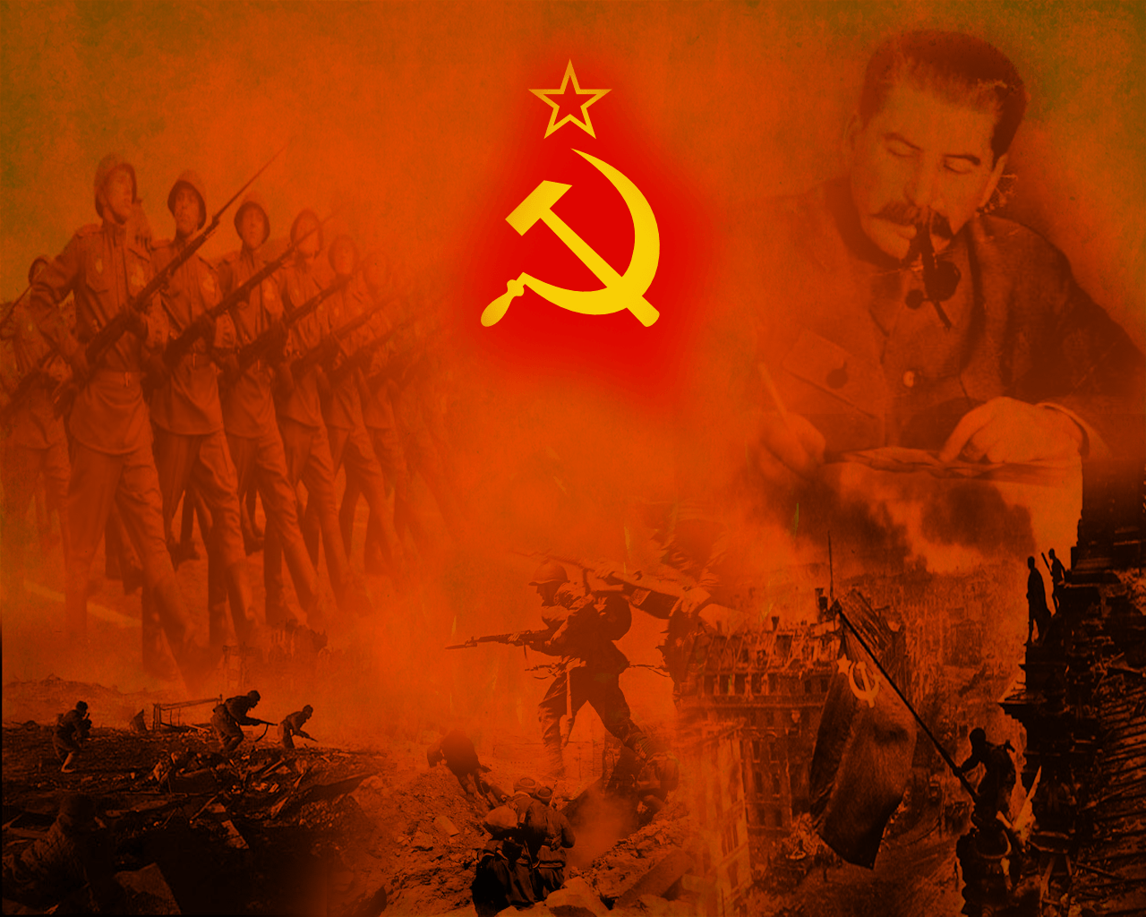 Soviet Propaganda Wallpapers