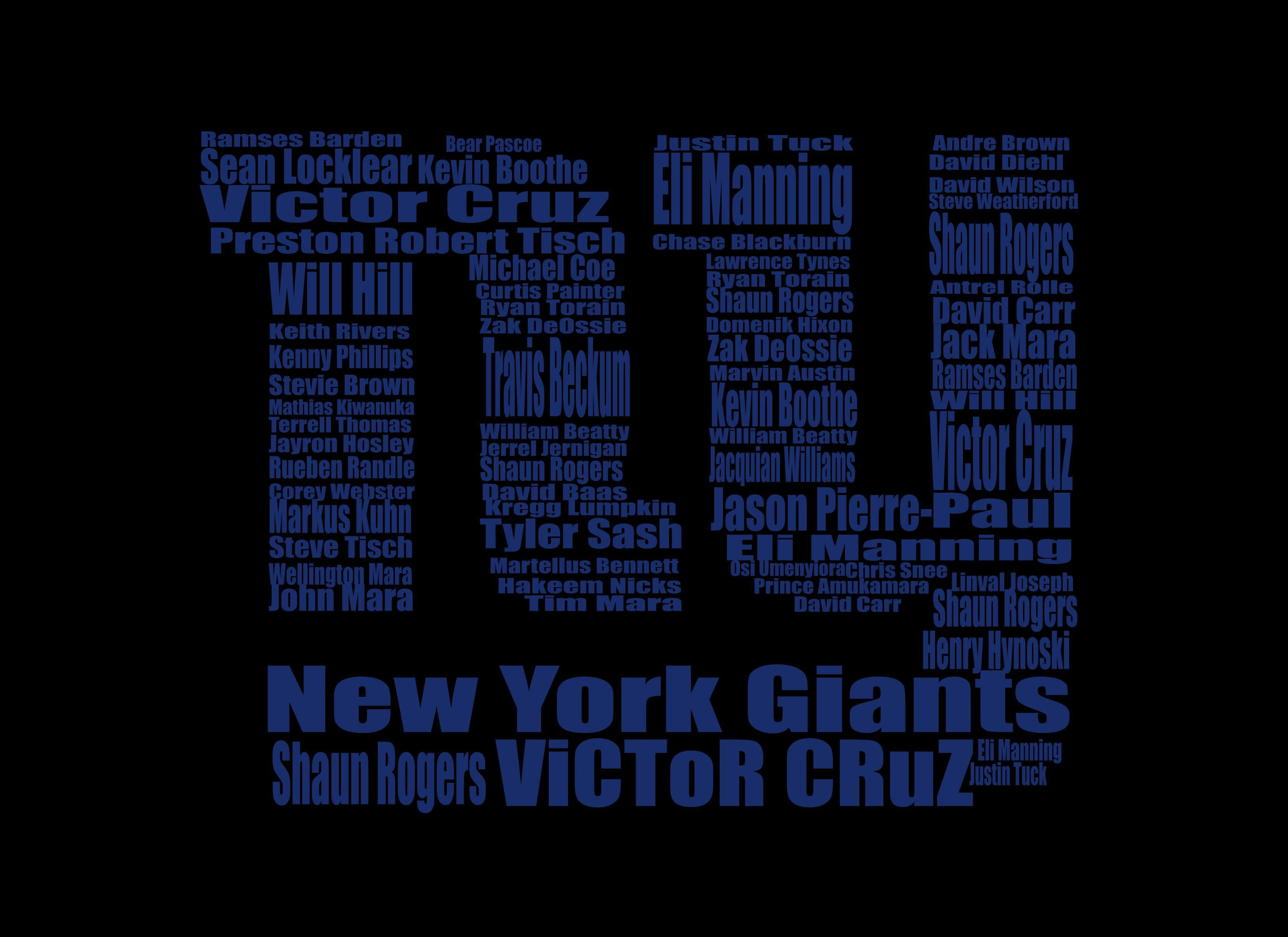 NEW YORK GIANTS nfl football rw wallpapers