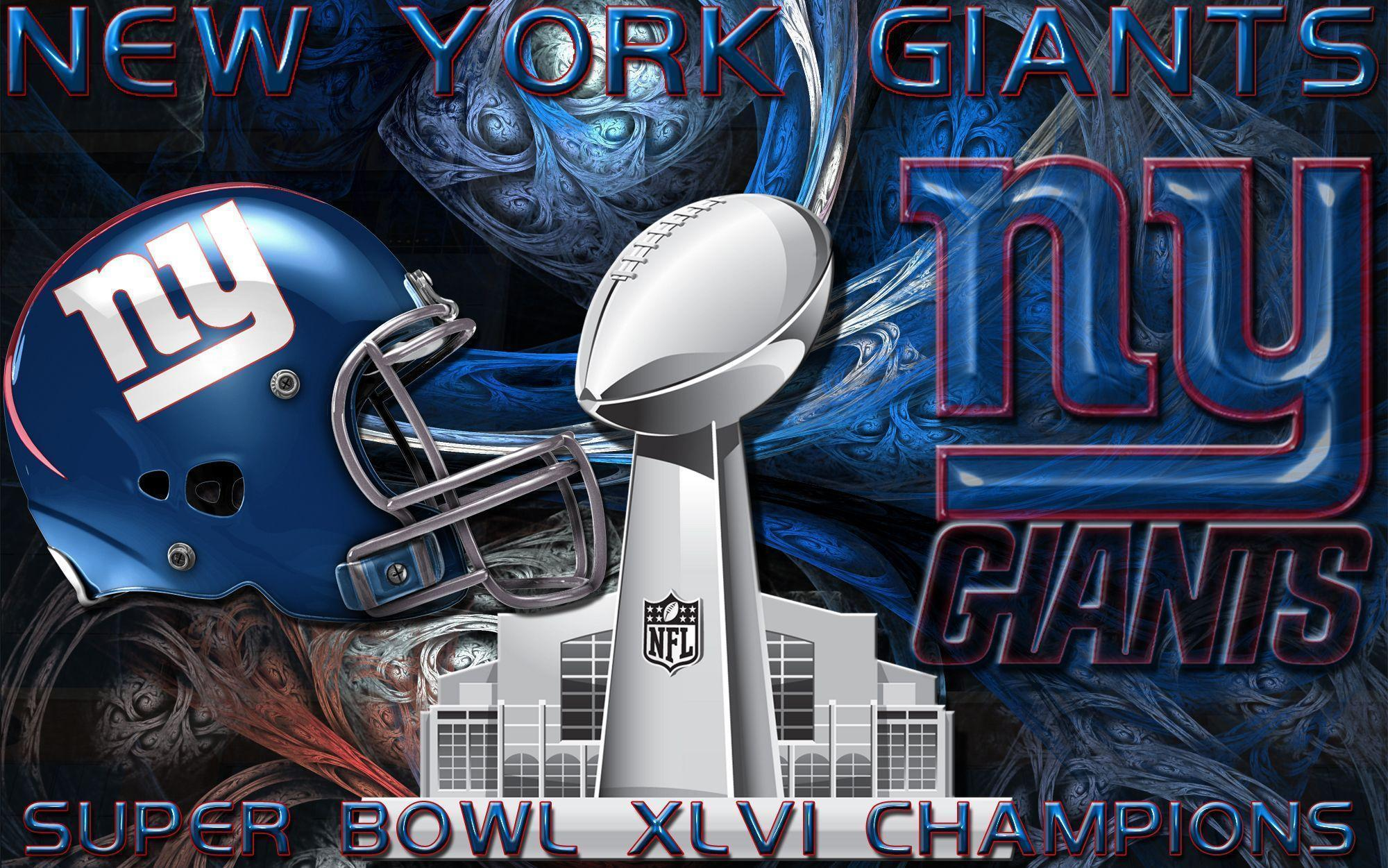 Wallpapers By Wicked Shadows: New York Giants Super Bowl XLVI