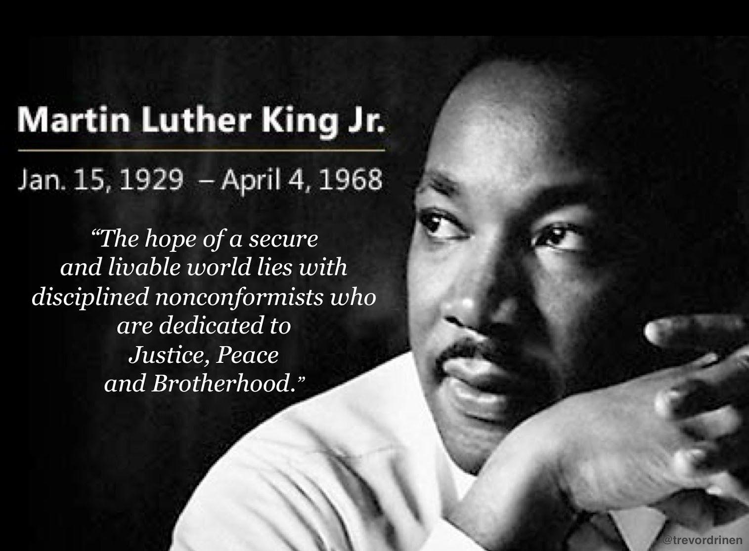 Martin Luther King Jr. 9 Inspirational Wallpapers & 25+ quotes ...