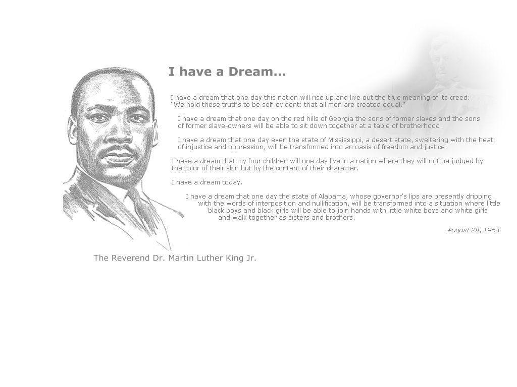 Martin Luther King Jr. Memorial Wallpaper - Zisya Art
