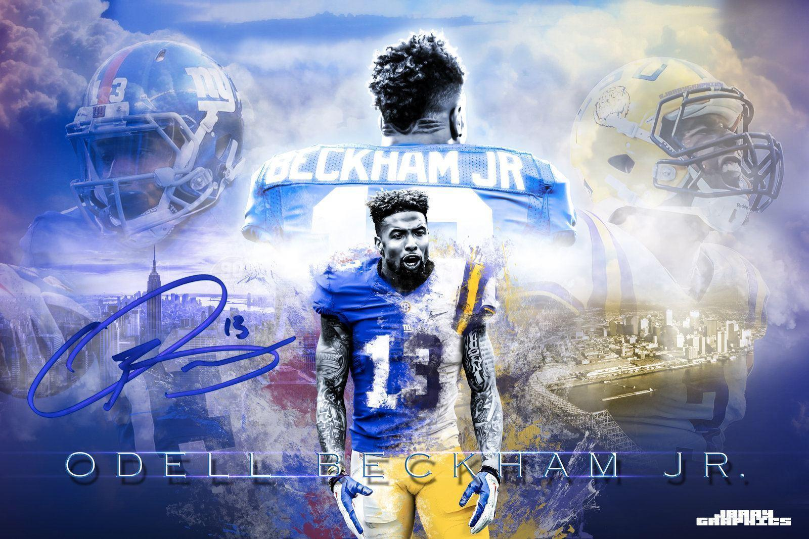 Odell Beckham Jr Wallpapers Wallpaper Cave