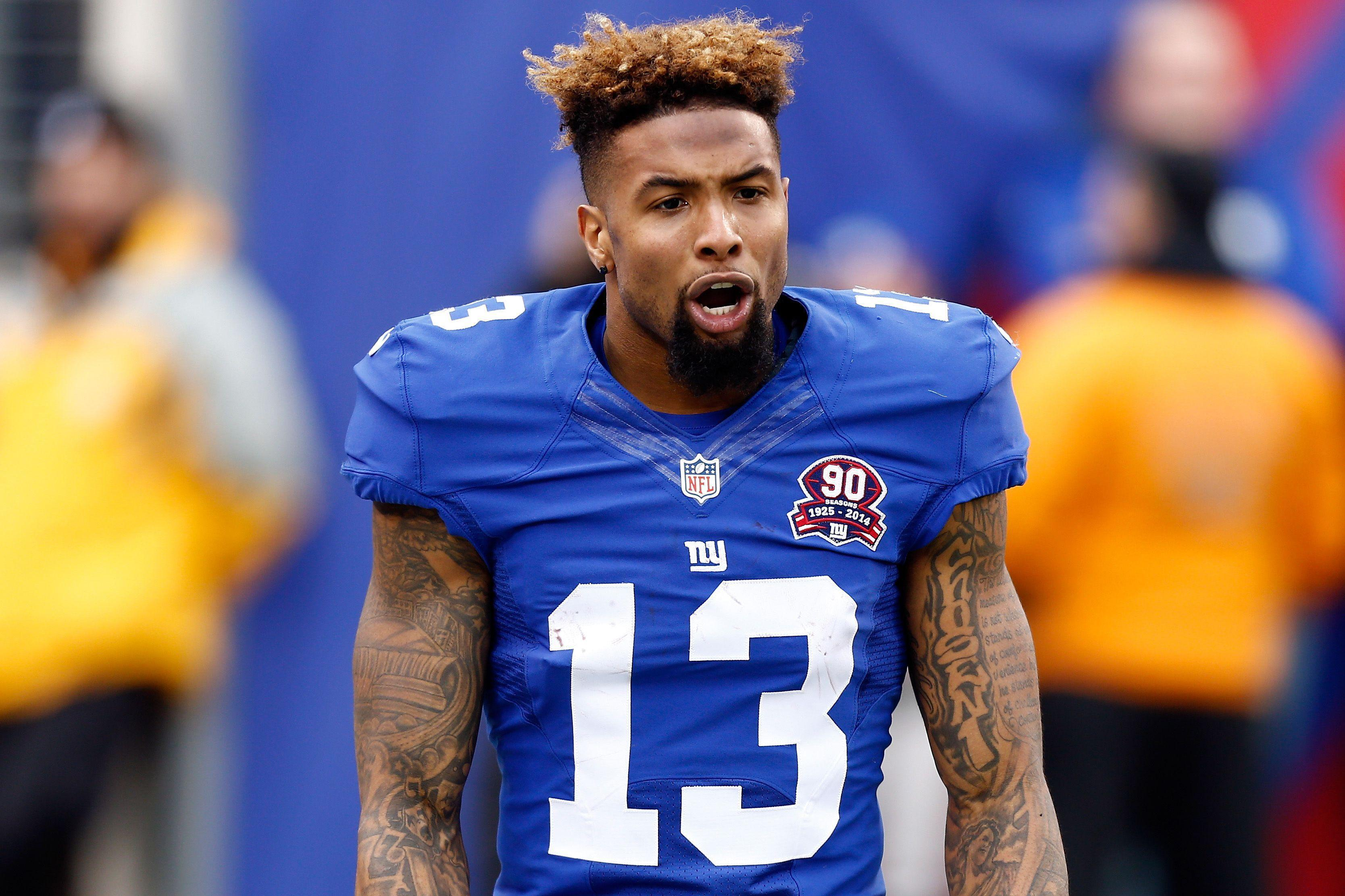Odell Beckham Jr may not speak French but he knows how to get his message across to the femmes