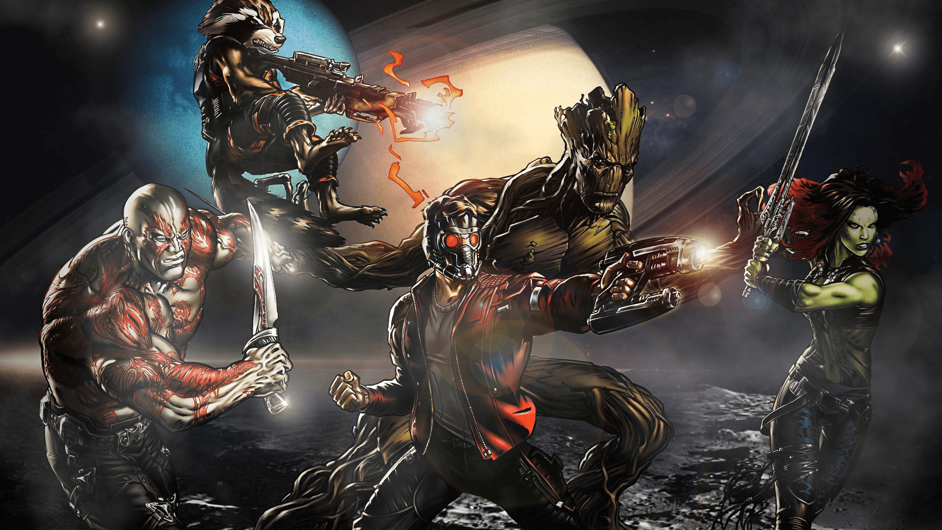 48 Guardians Of The Galaxy Android Compatible Wallpapers