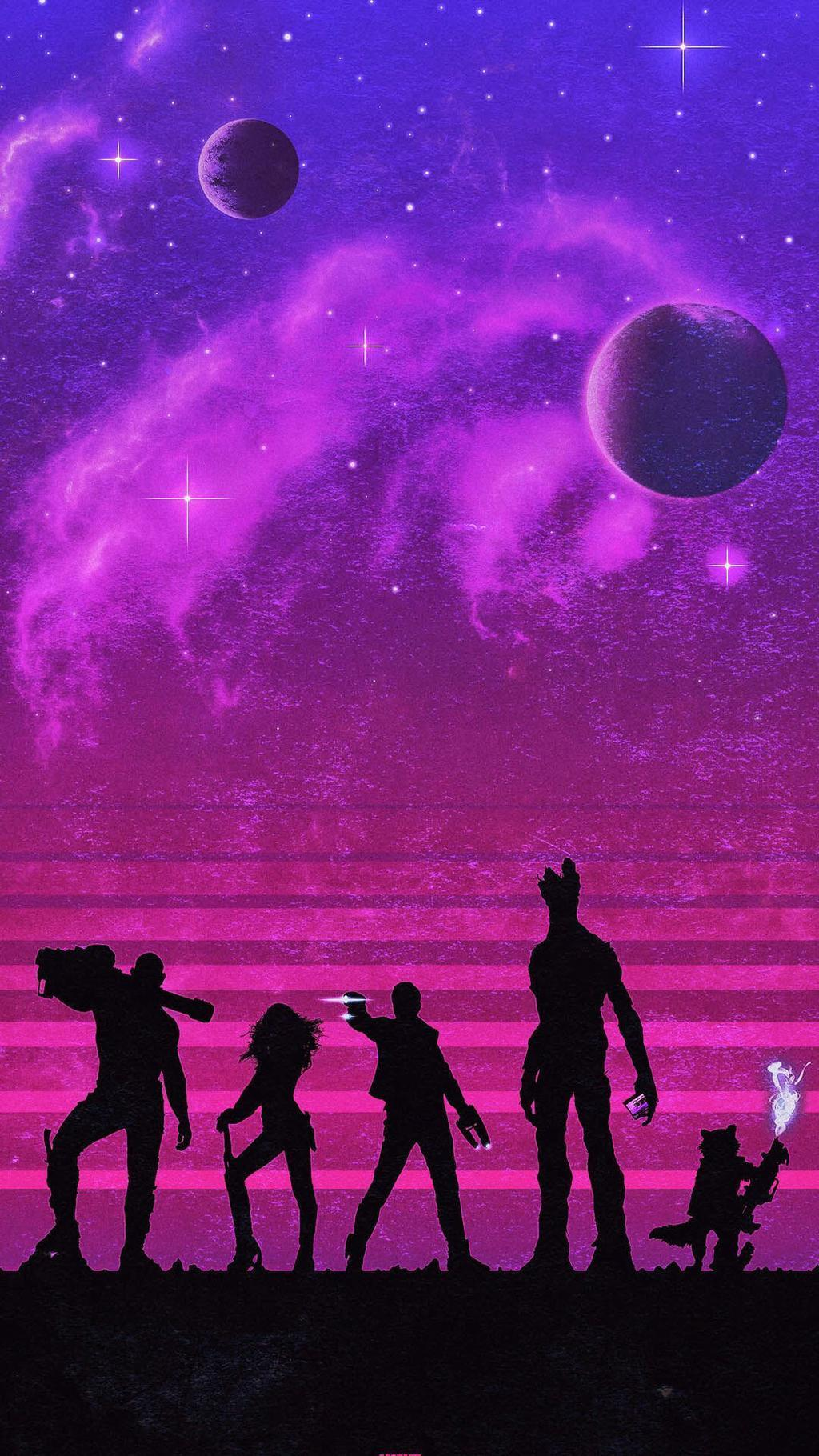 Guardians of the Galaxy wallpapers for iPhone and iPad