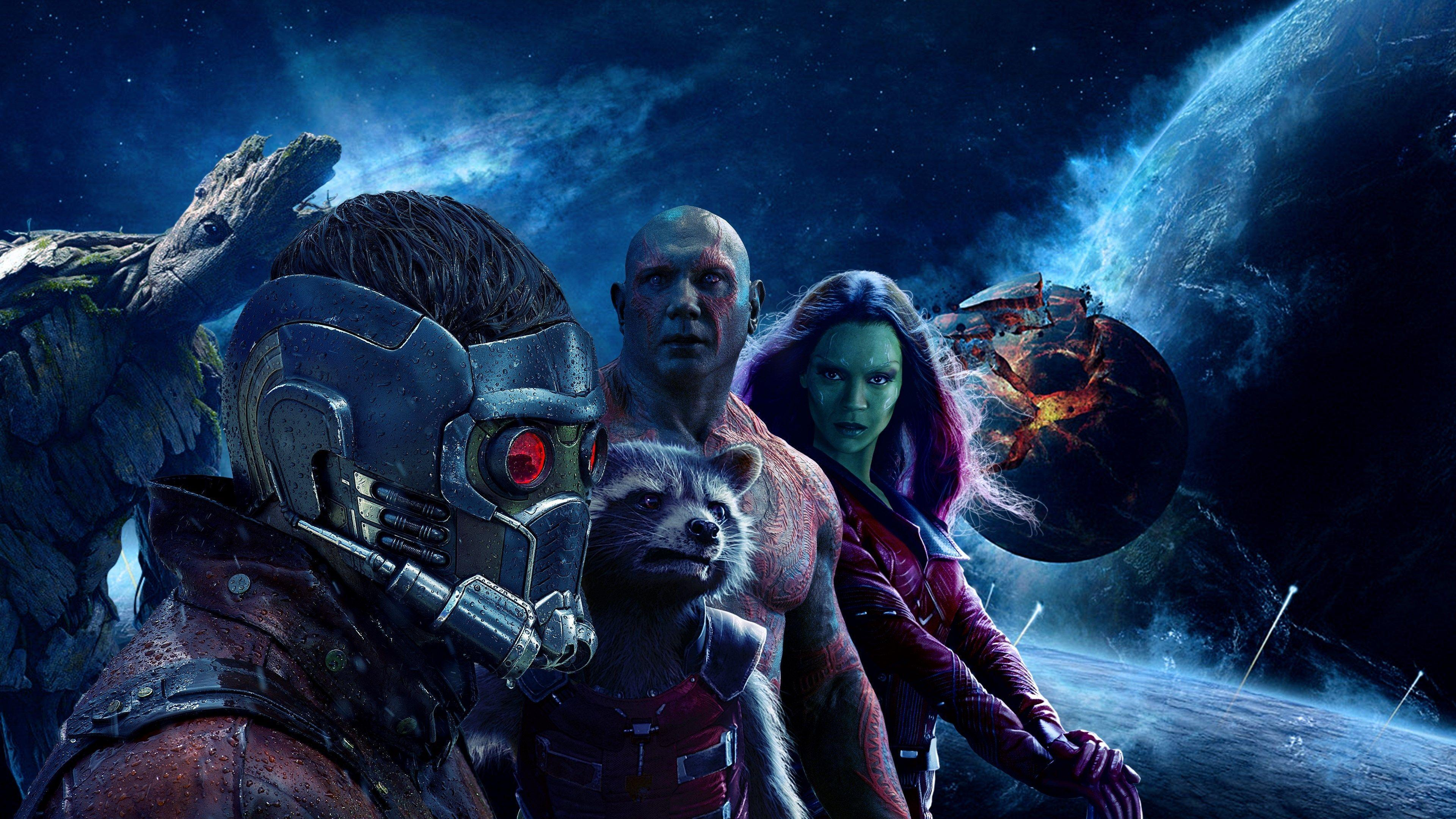 Guardians of the Galaxy Vol 2 4K Wallpapers