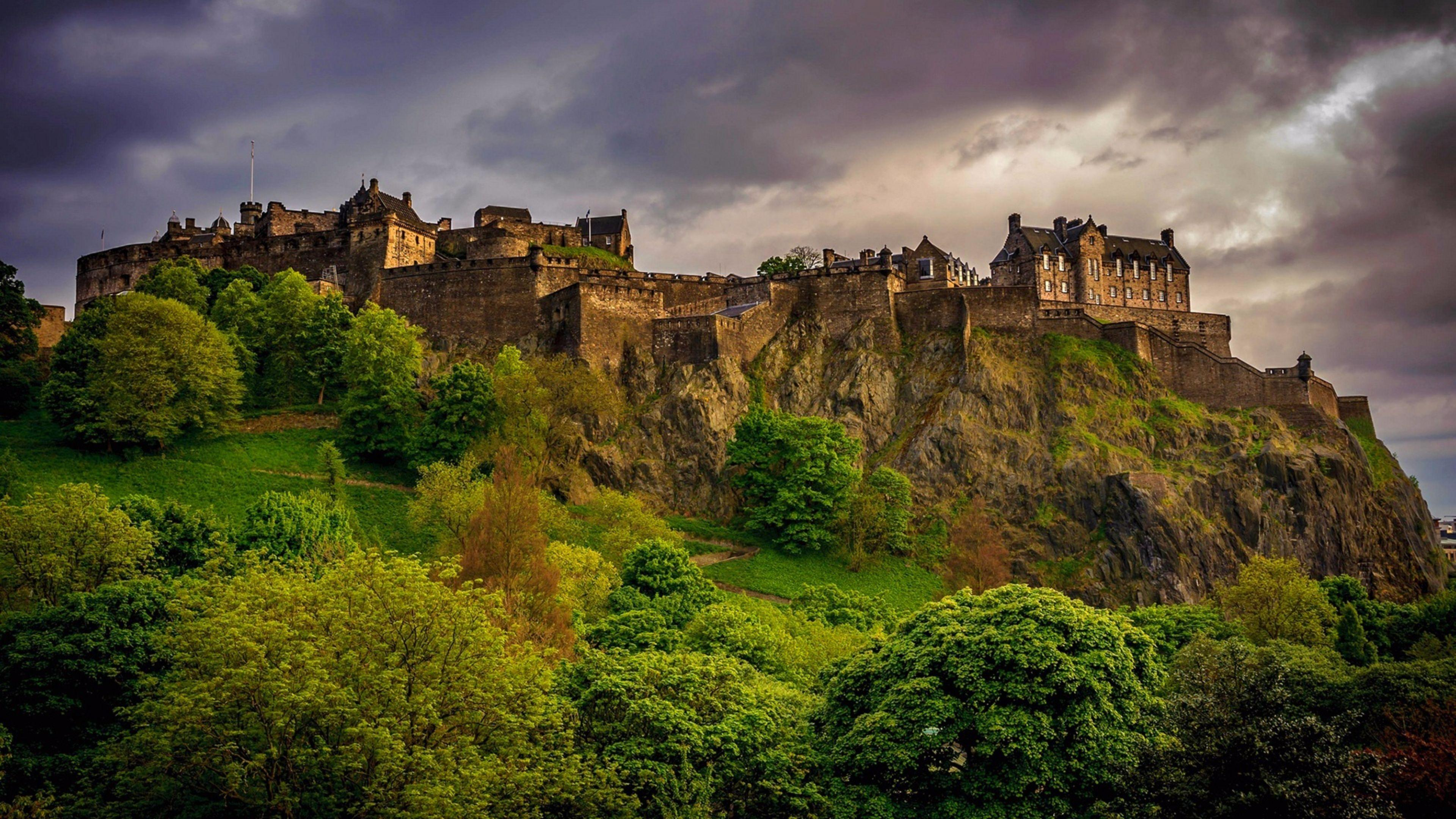 History 4K Edinburgh Scotland Wallpapers