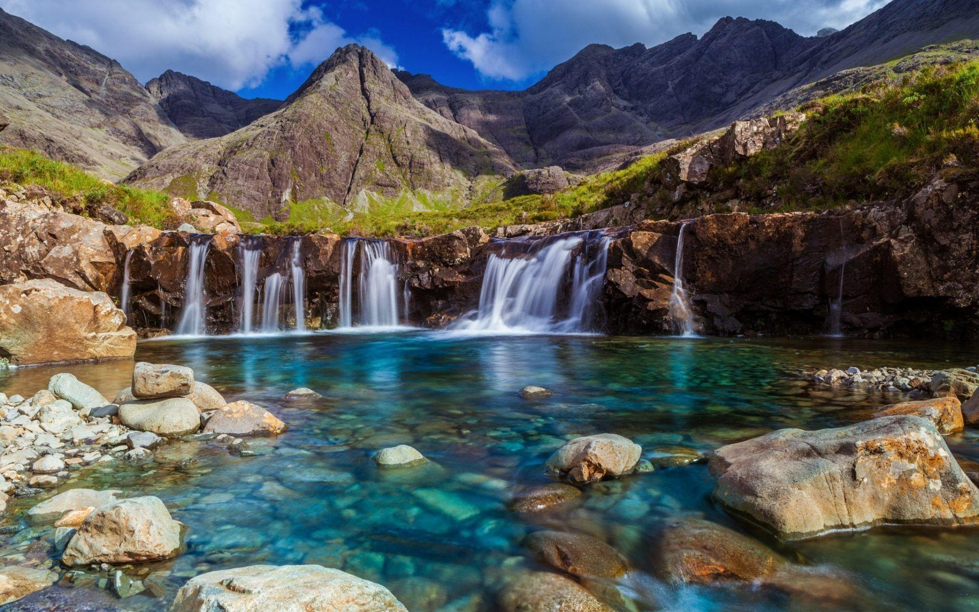 Fairy Pools isle of Skye Scotland Wallpaper HD For Dekstop