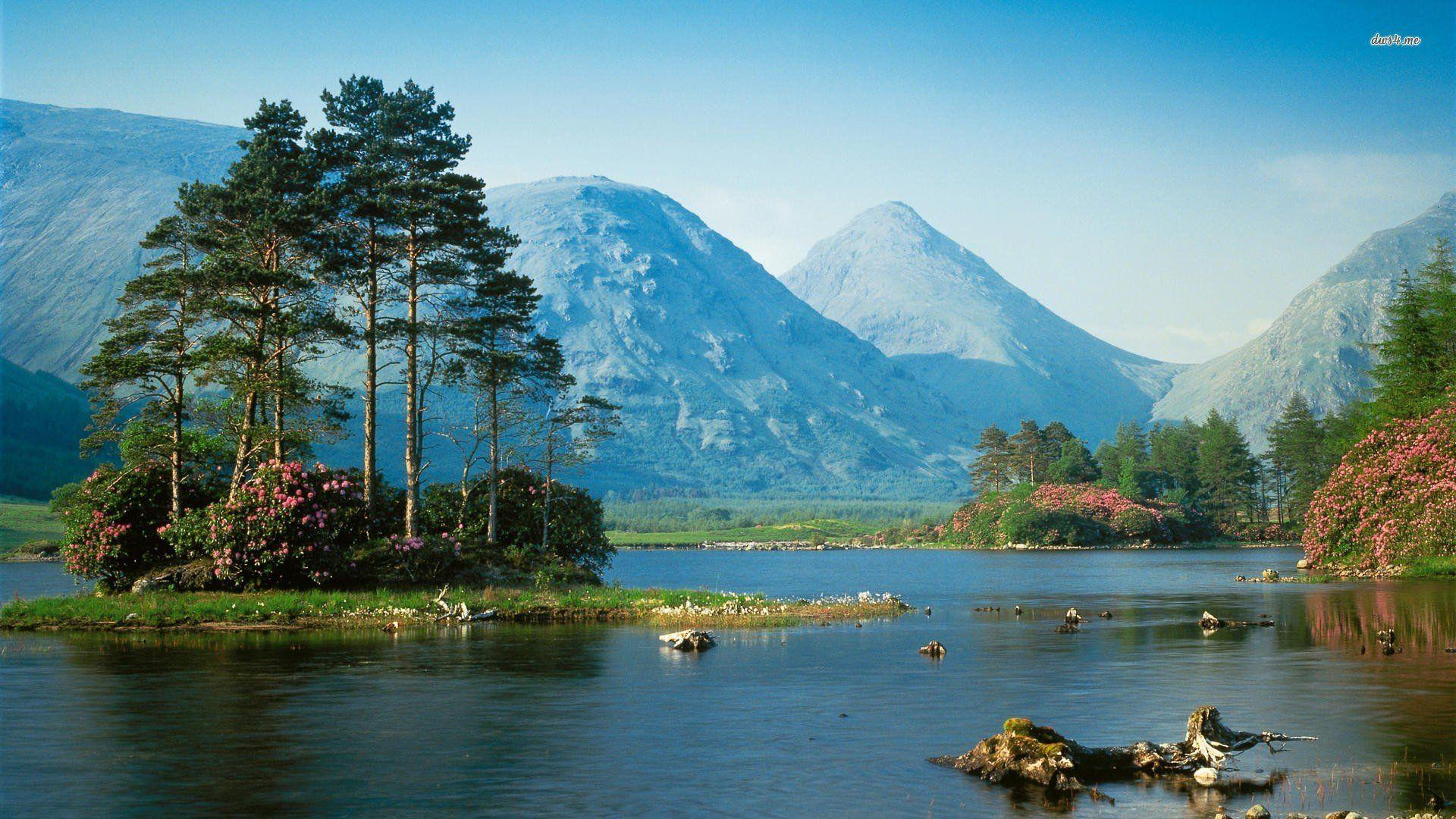 Glen Etive Scotland Wallpaper