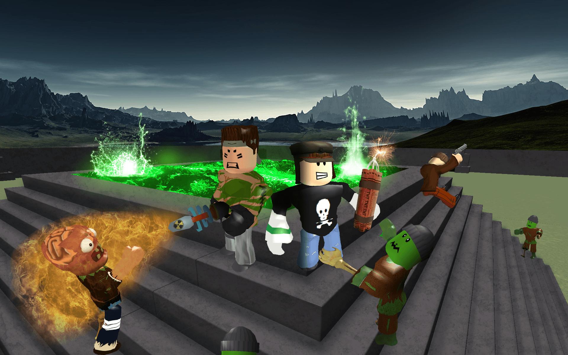 Roblox Wallpaper Backgrounds - Wallpapers
