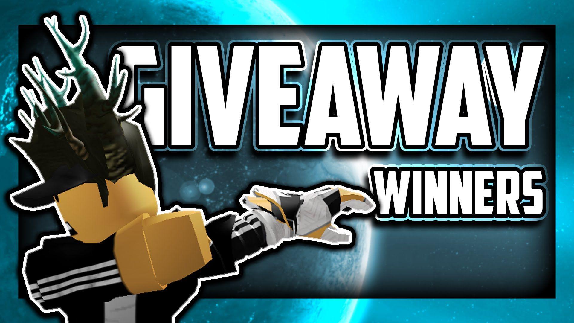 FREE ROBLOX WALLPAPER GIVEAWAY WINNERS - YouTube