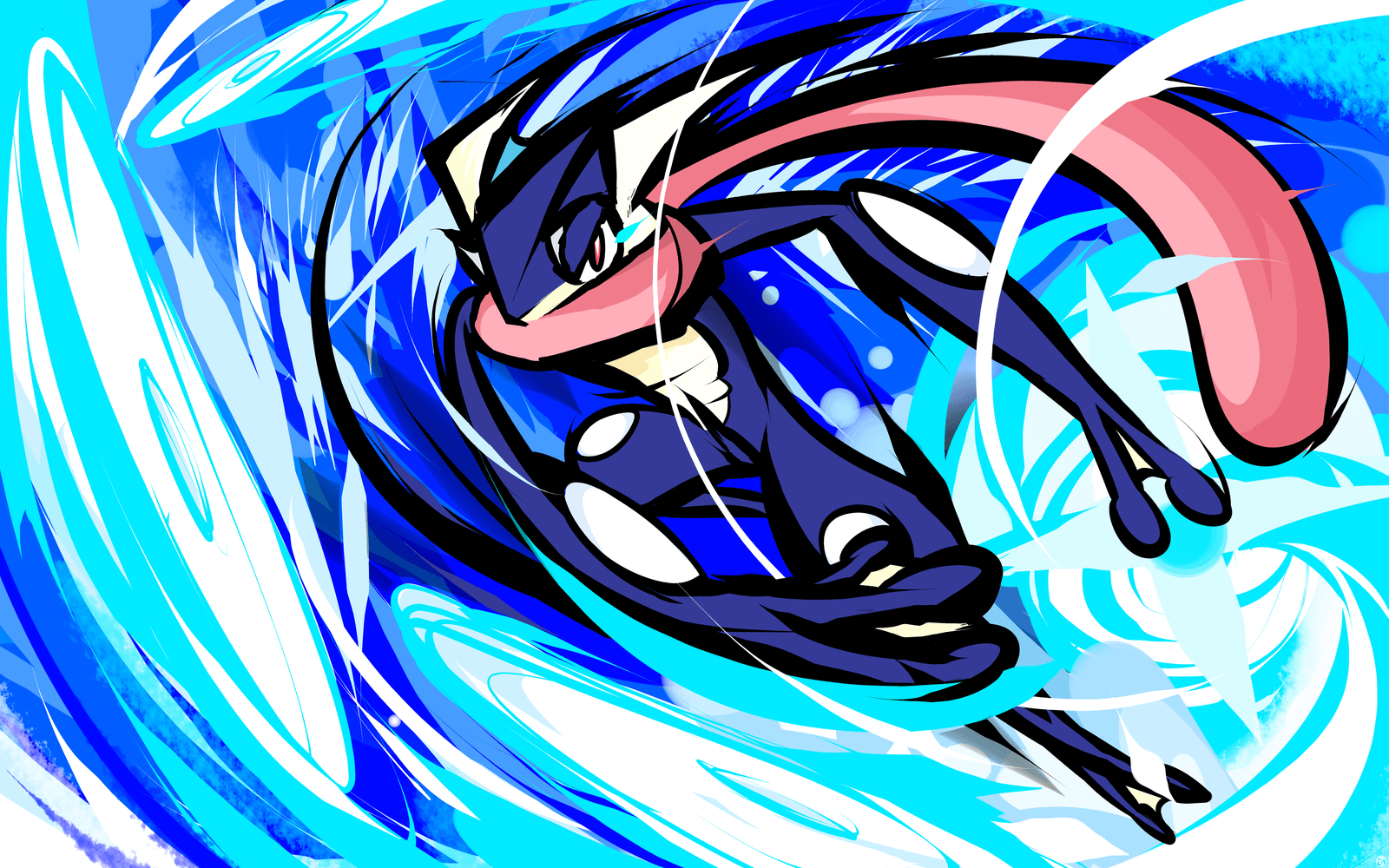 11 Greninja (Pokémon) HD Wallpapers | Background Images - Wallpaper ...