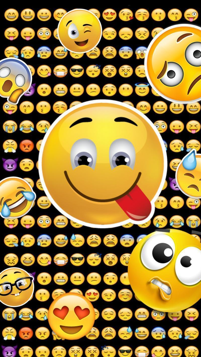 Emojis Wallpapers Wallpaper Cave