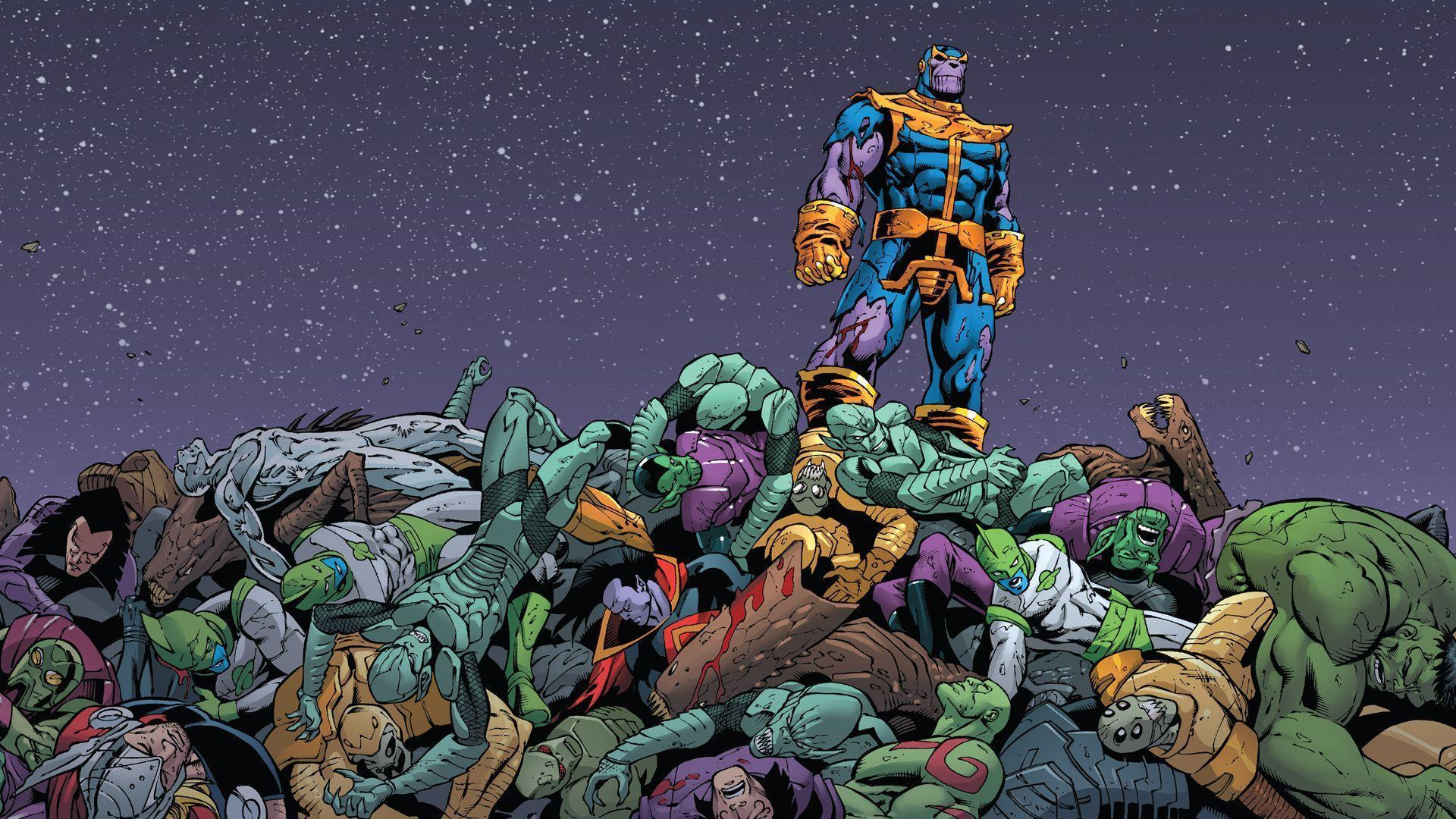 Thanos Wallpapers - Wallpaper Cave