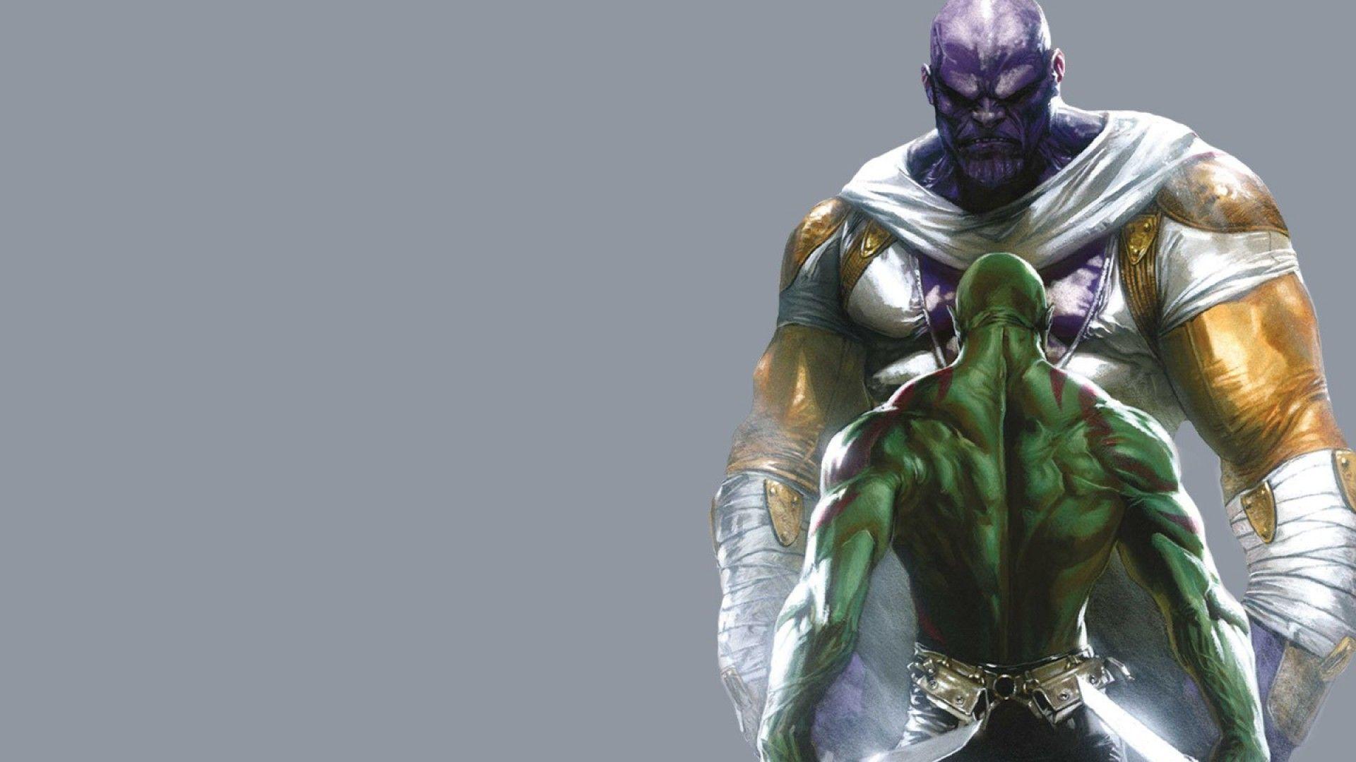 Drax The Destroyer Vs Venom: Thanos Wallpapers