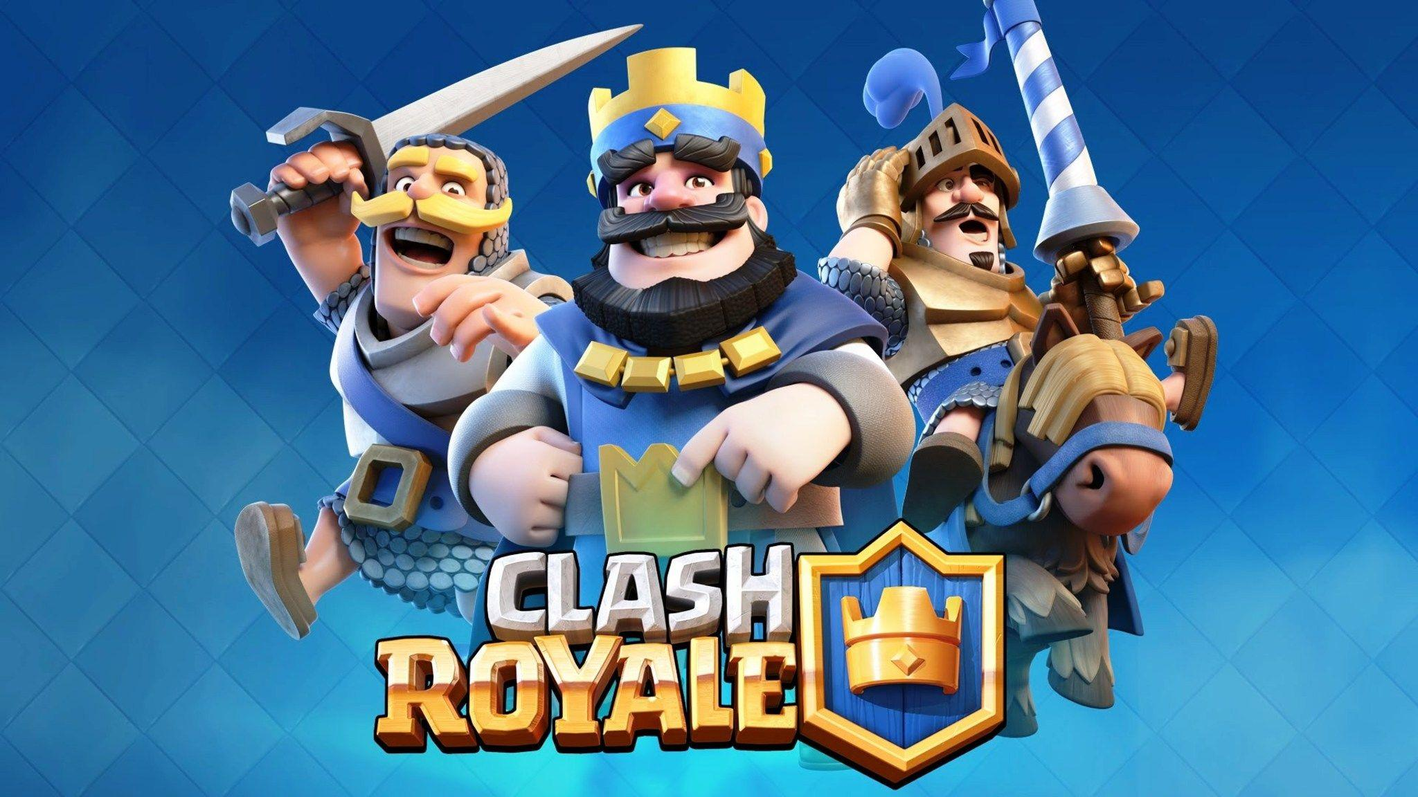 Download Clash Royale Supercell Game HD Wallpaper In 2048x1152 ...