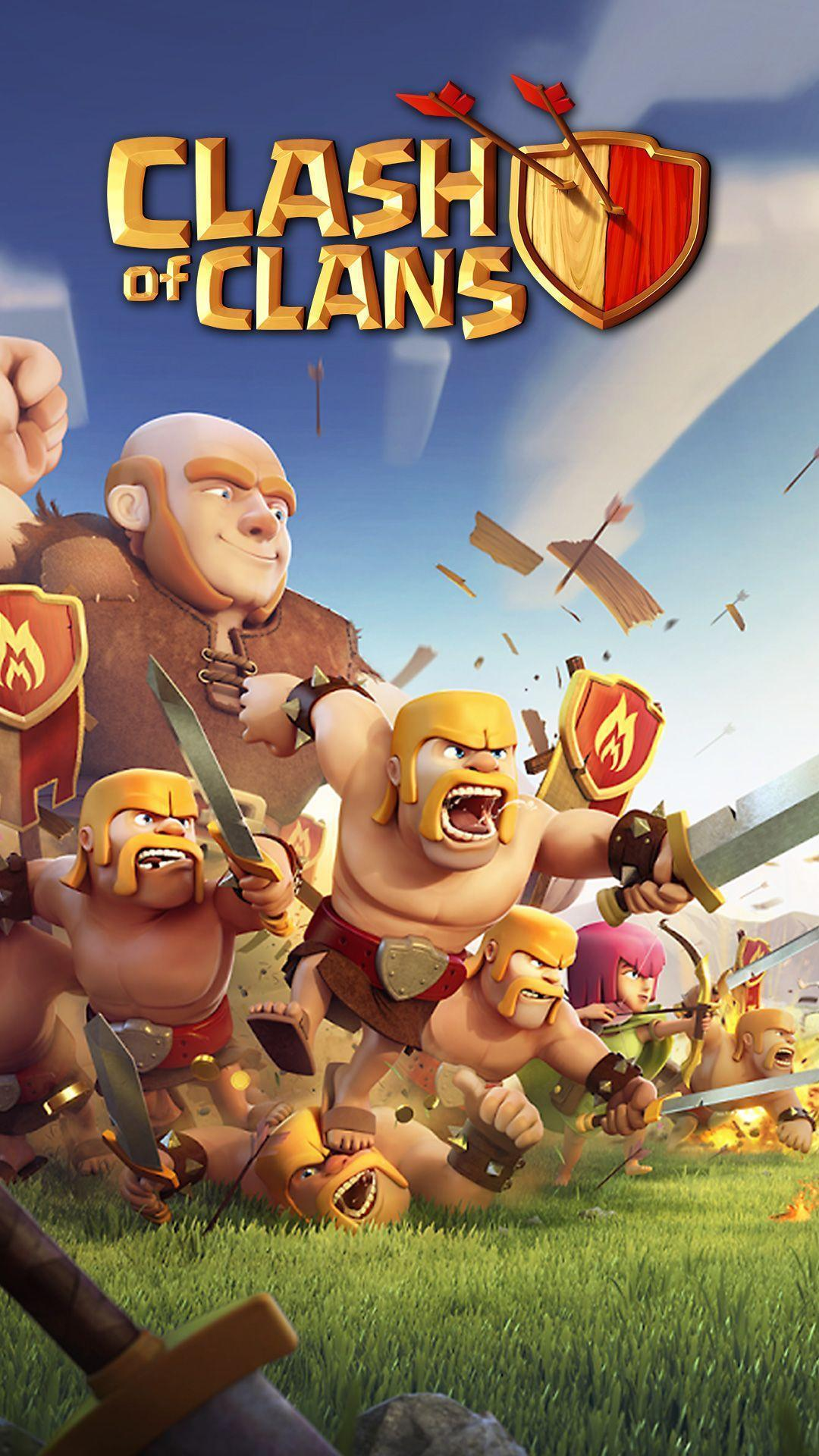 Clash Of Clans Phone Wallpapers Wallpaper Cave