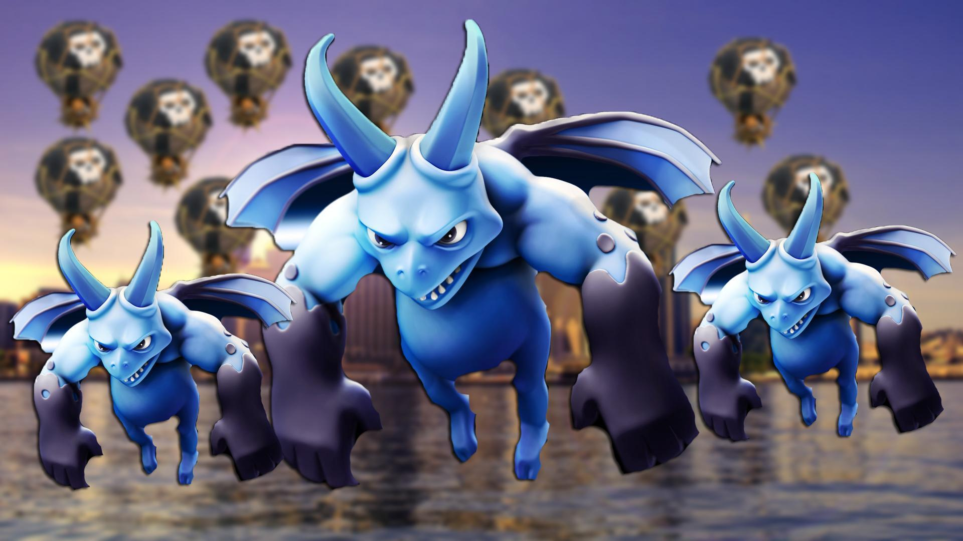 Clash of Clans Wallpaper › Heroes, Units, City Wallpaper and Artworks