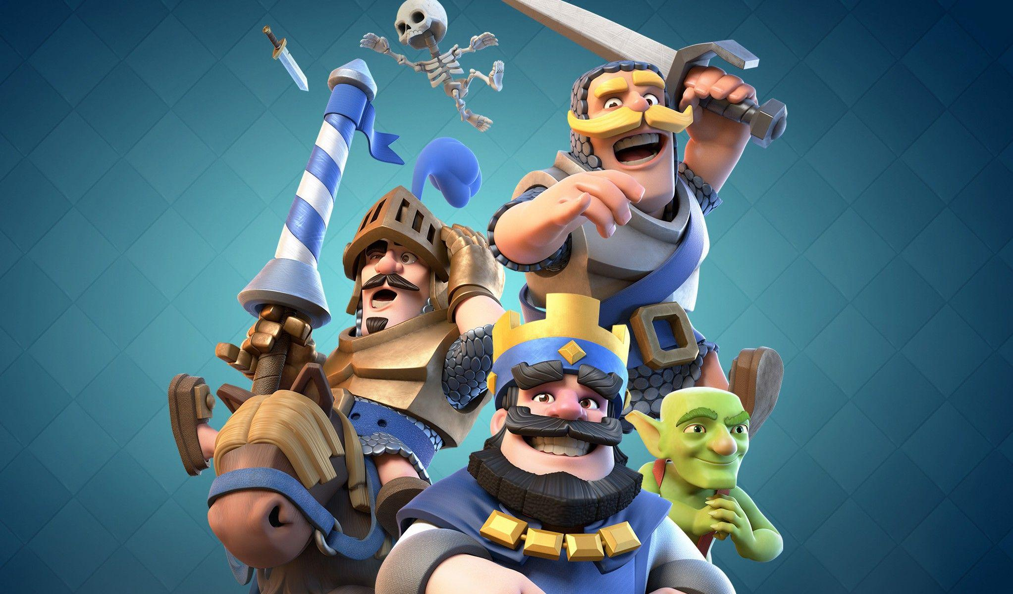 Mobile Game Clash Royale HD Wallpapers - Desktop Wallpapers