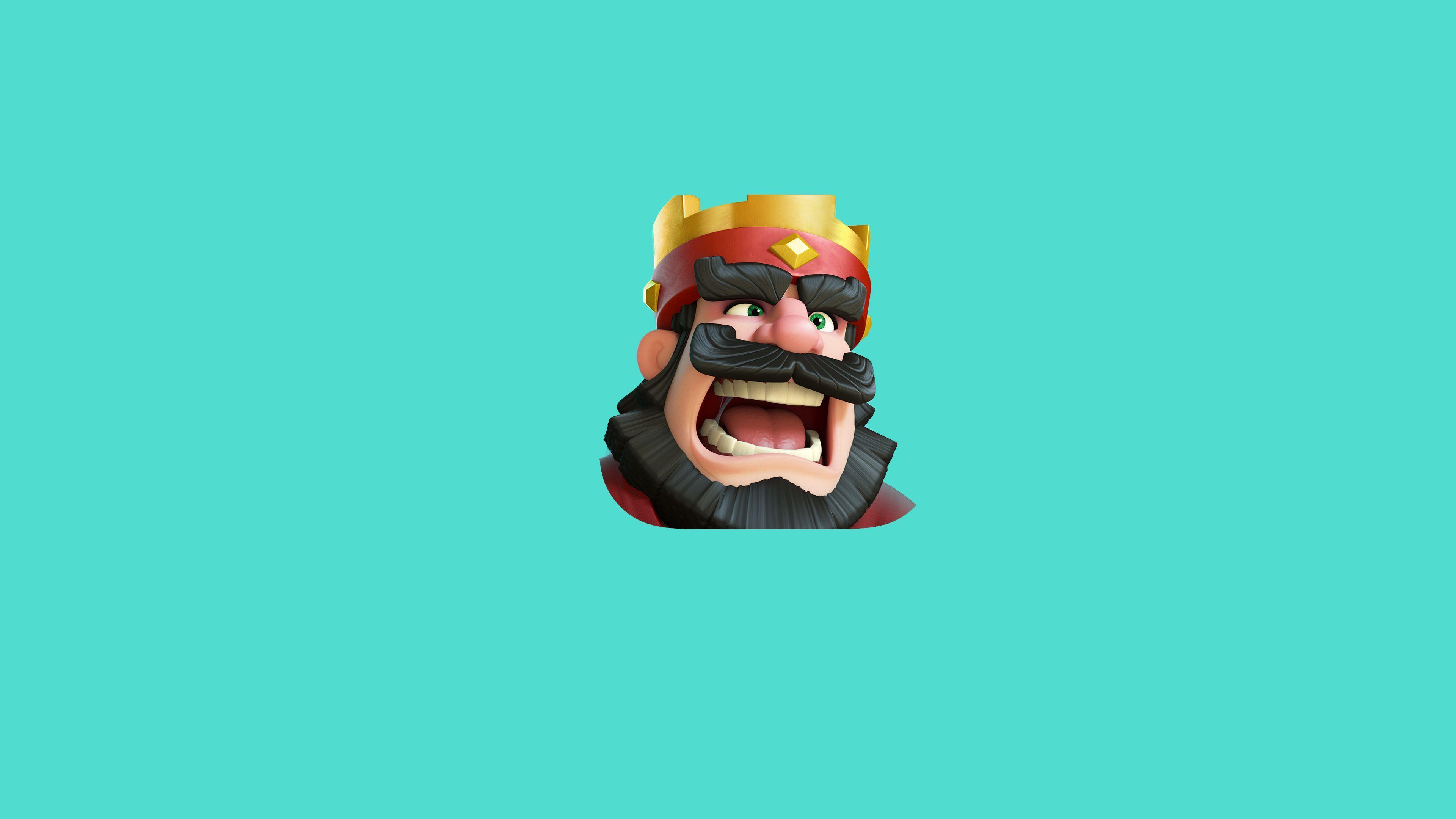Clash Royale King Wallpaper | Games HD Wallpapers