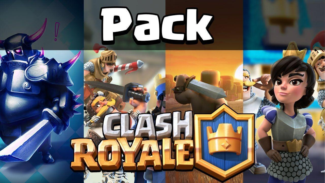 Pack Clash Royale - Pngs, Wallpapers - YouTube