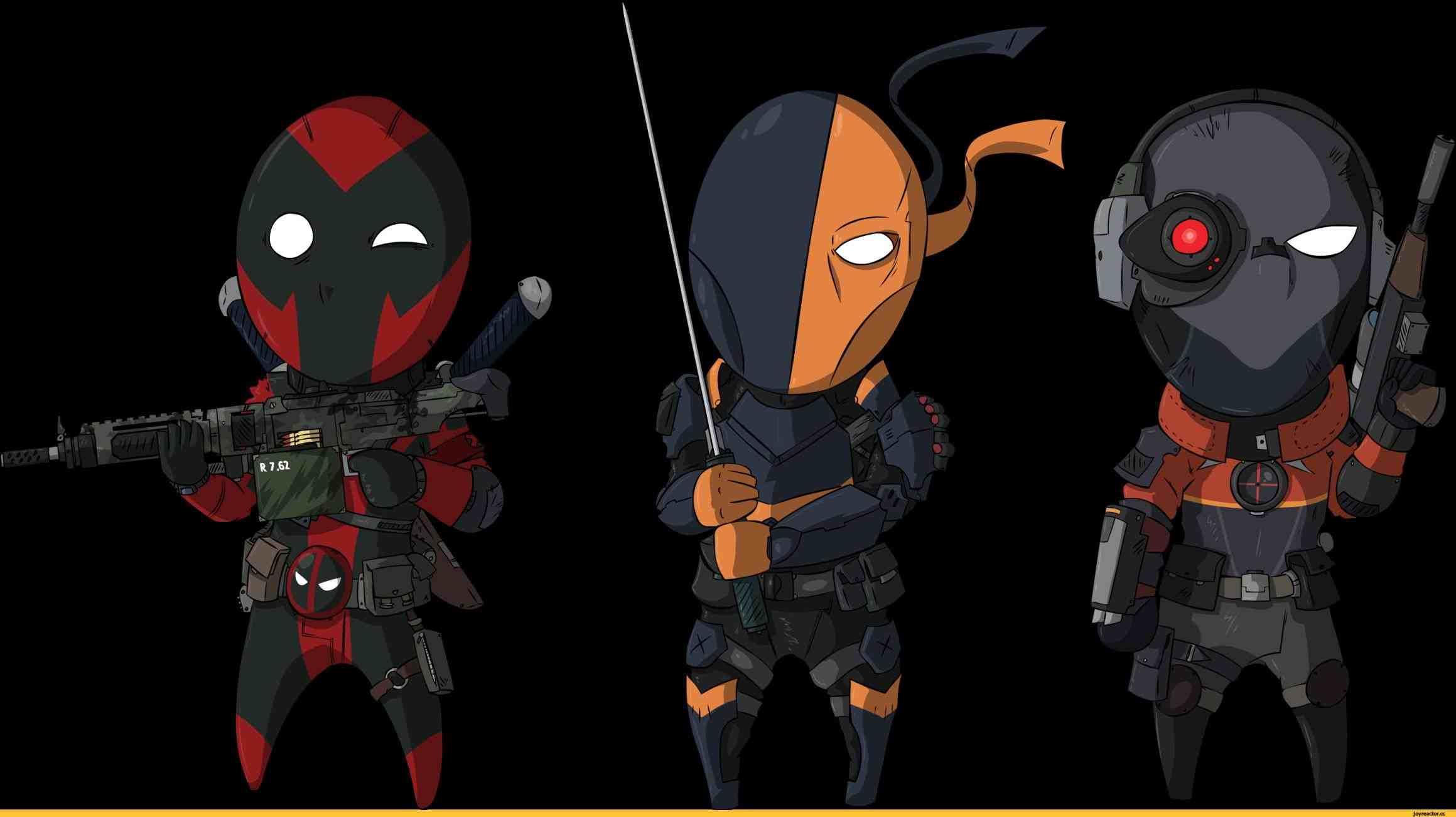 Deathstroke Vs Deadpool Vs Deadshot