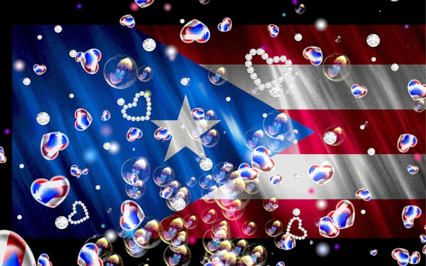 Puerto Rico Flag Love