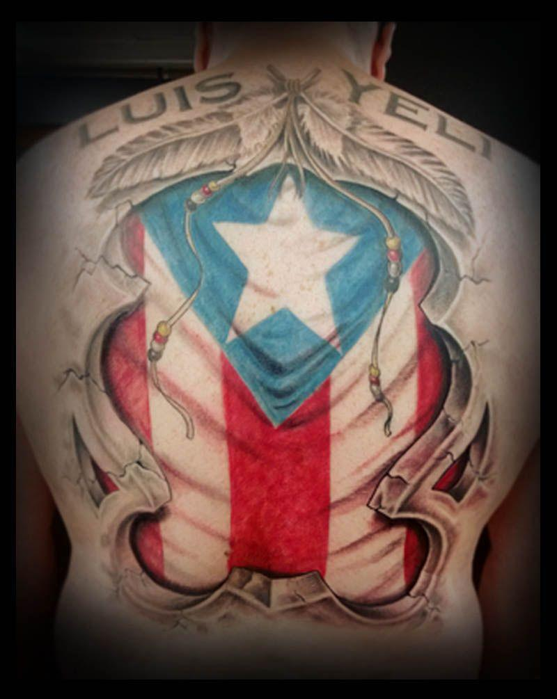 Flags, Flag tattoos and Puerto rican flag