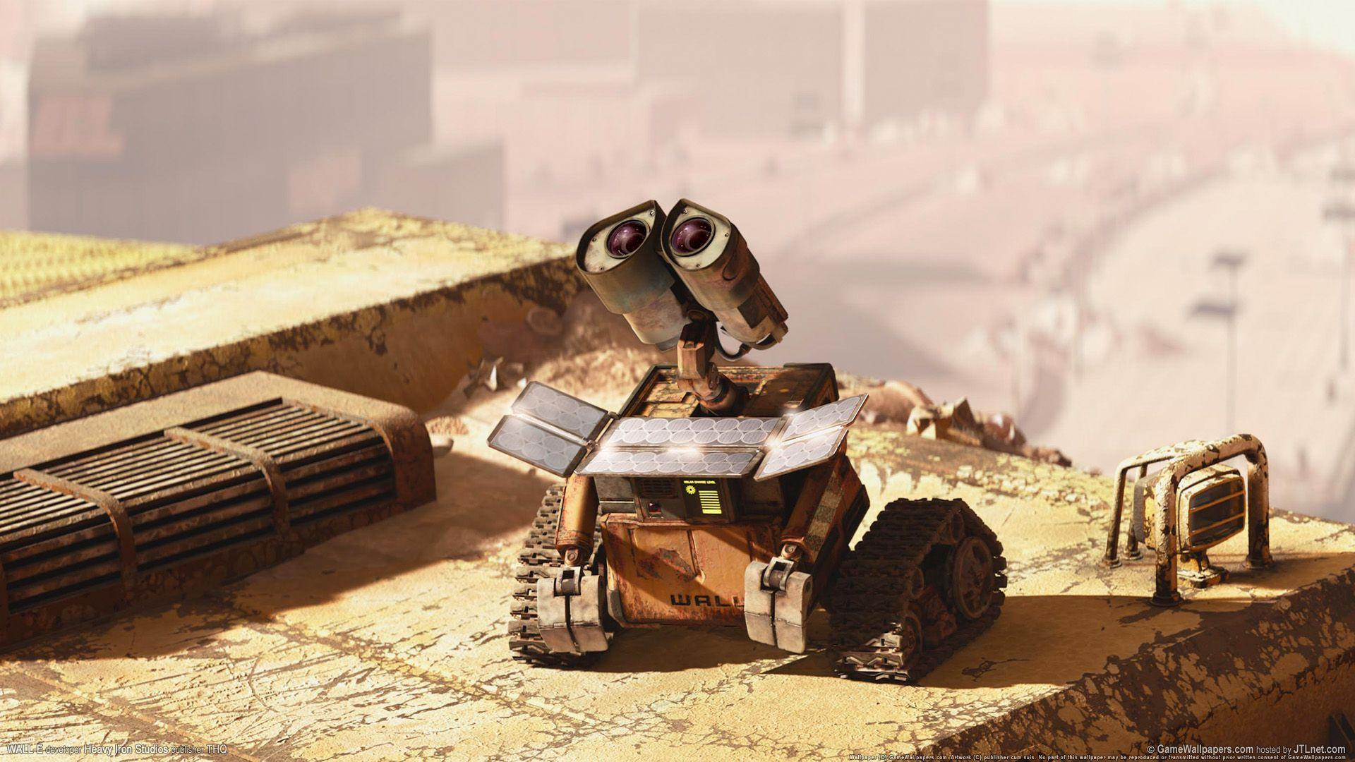 Wall E HD 1080p Wallpapers