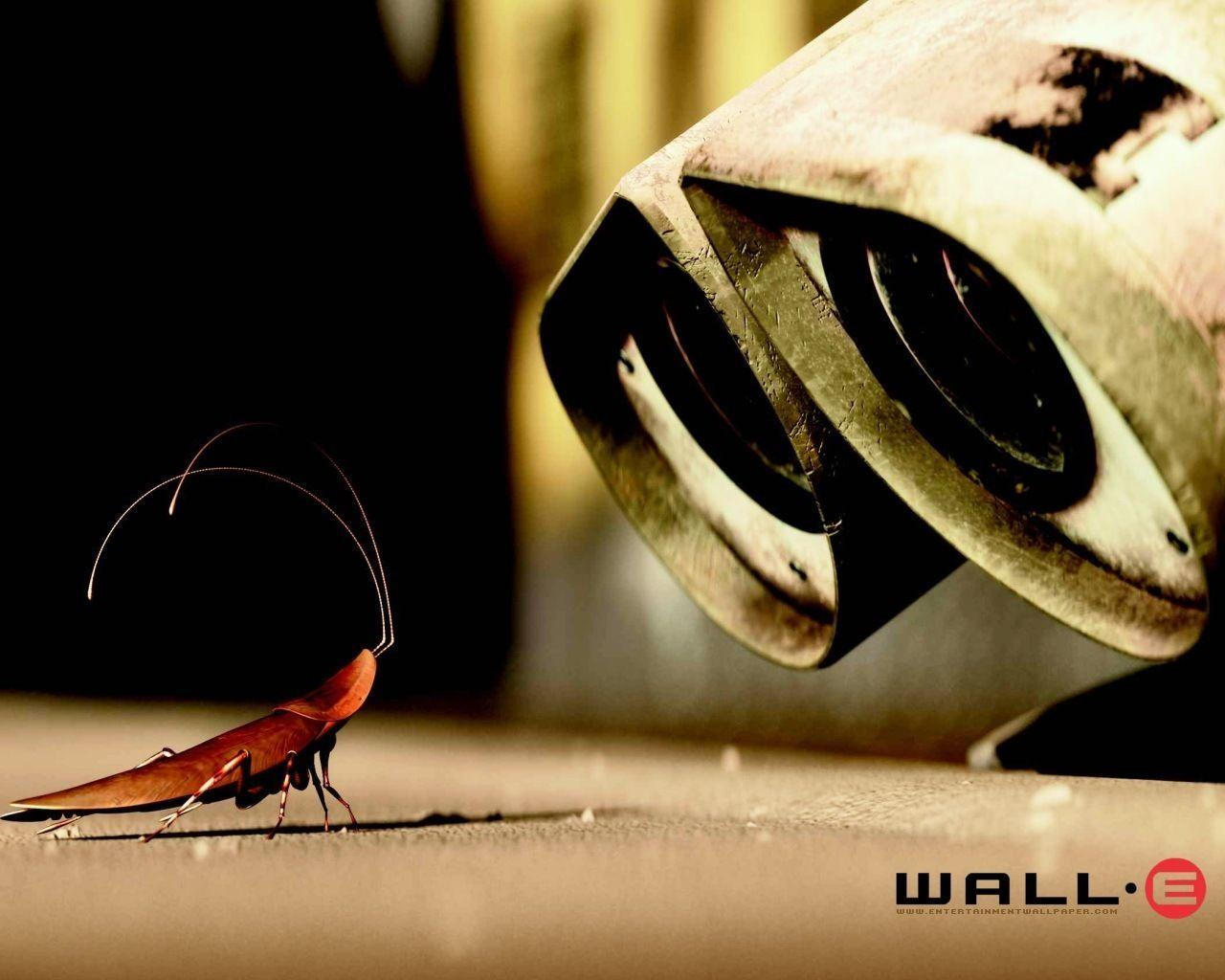 Wall E Cartoon Close up HD Wallpapers