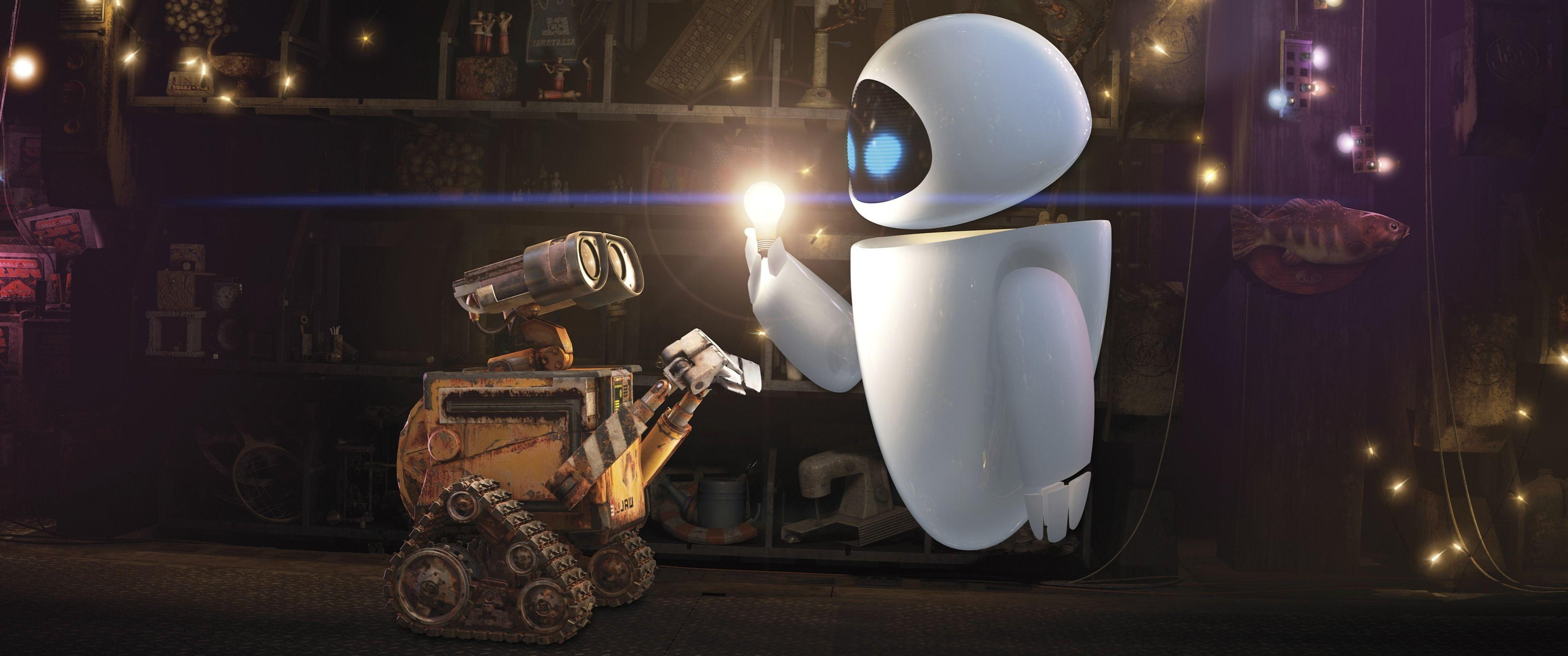 WALL·E, Disney, Movies, EVE Wallpapers HD / Desktop and Mobile
