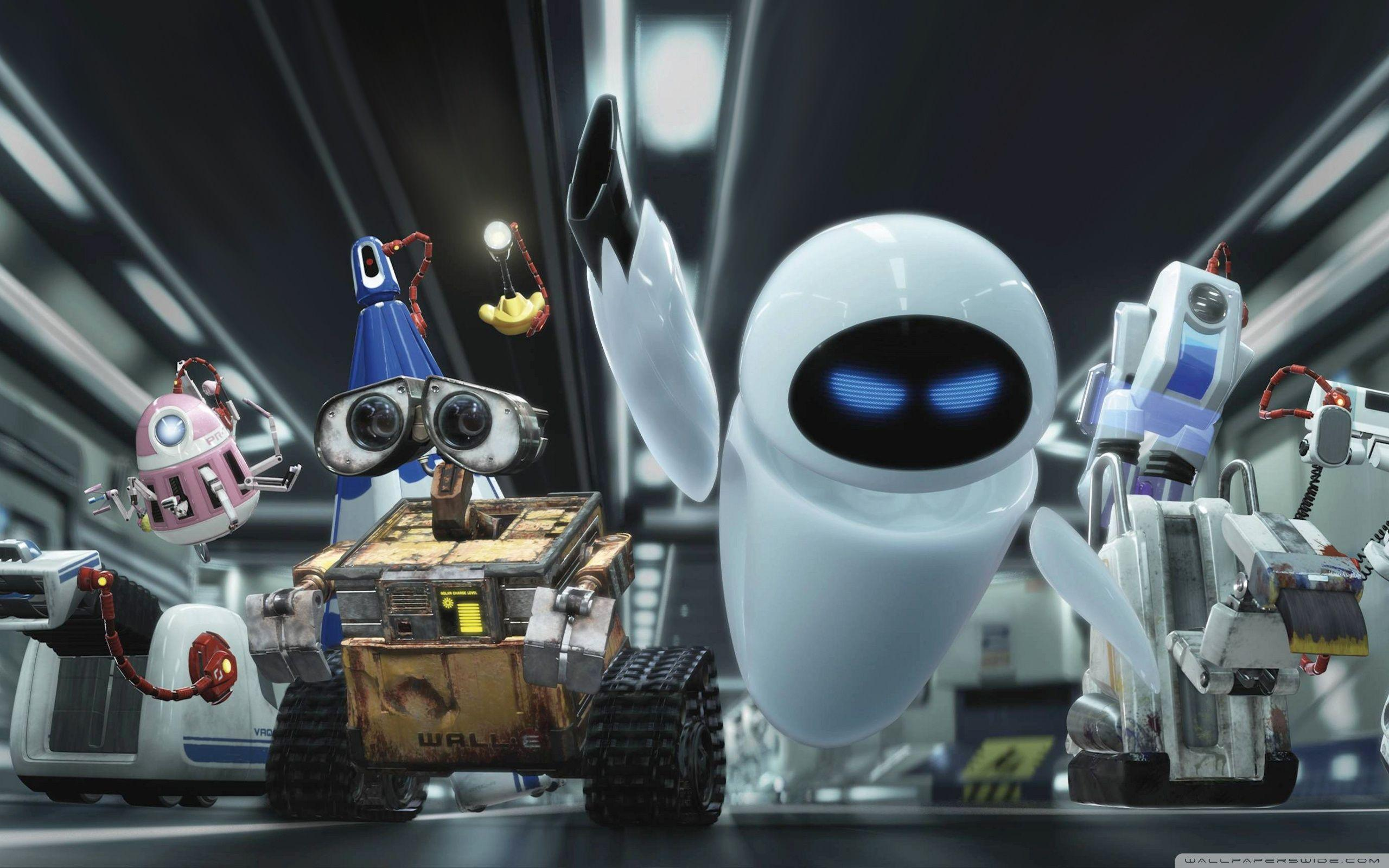 Wall E And Eve HD desktop wallpapers : High Definition : Mobile