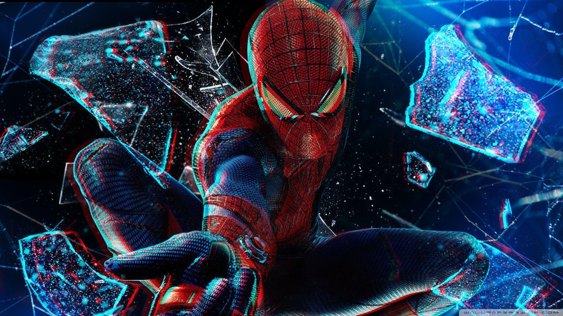 The Amazing Spider-Man 3D HD desktop wallpaper : High Definition ...