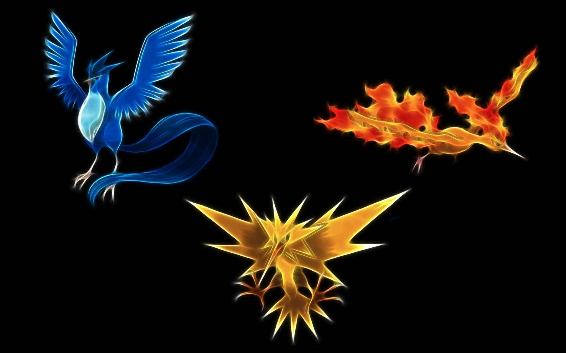 Articuno Zapdos Moltres Wallpapers