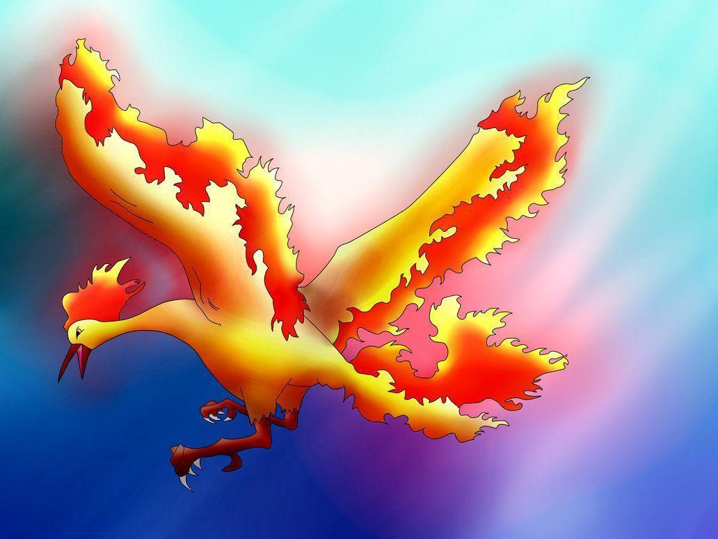 Moltres by Cloudy