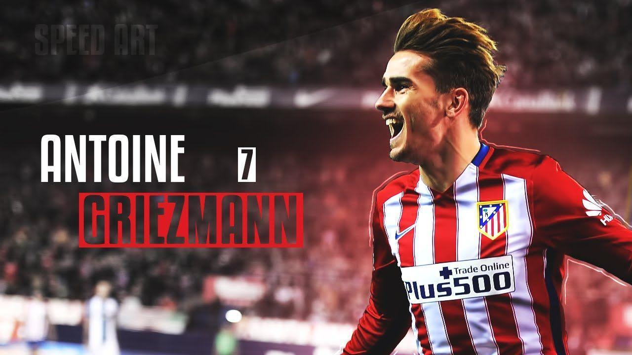 Antoine Griezmann Wallpaper | Speedart - YouTube