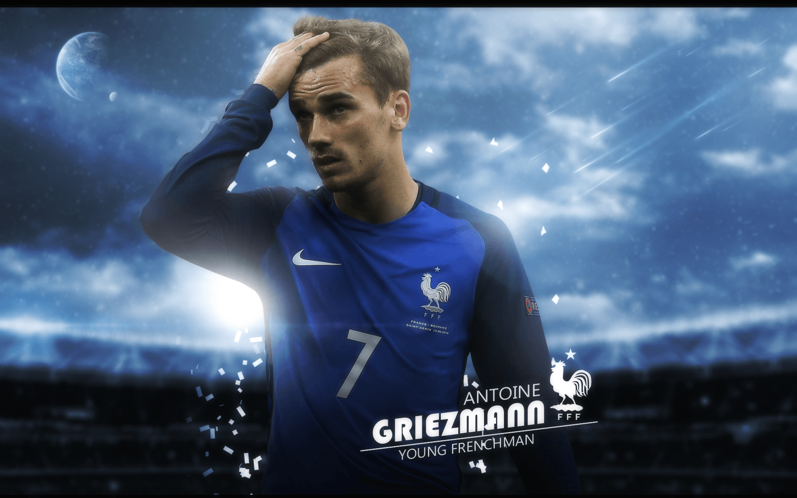 Antoine Griezmann Wallpaper (France) by ChrisRamos4 on DeviantArt